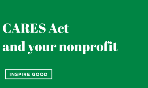 CARES Act and your Nonprofit