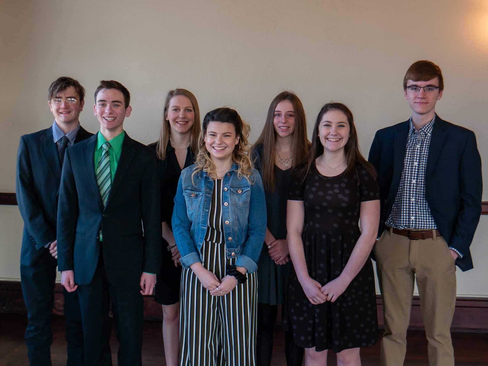The 2020 INSPIRE Scholarship winners