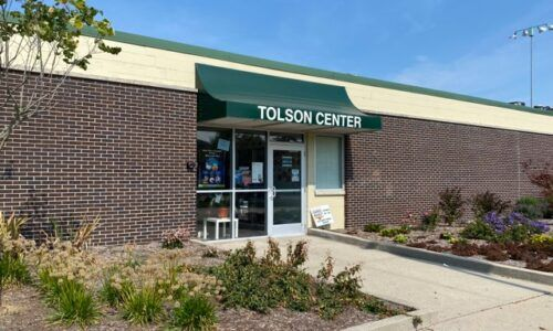 Photo of Tolson Center building.