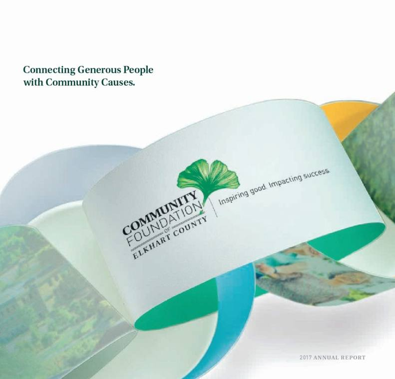 2017 Annual Report: Connecting Generous People with Community Causes